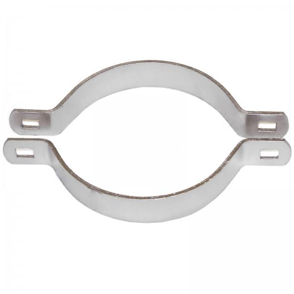 "2 1/2"" Domestic 2-Way Brace Bands - 12 Gauge x 3/4"" (Fits 2 3/8"" OD)"