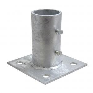 "2 1/2"" Domestic Floor Flanges - Pressed Steel (Fits 2 3/8"" OD)"