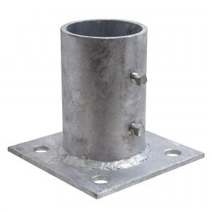 "3"" Domestic Floor Flanges - Pressed Steel (Fits 2 7/8"" OD)"