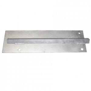 10' Domestic Steel V-Groove Track