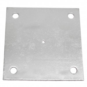 "4"" x 4"" x 1/4"" Domestic Floor Plates"