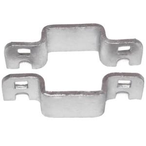 "1"" Domestic Square Collars - Pressed Steel"