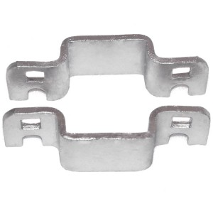 "2"" Domestic Square Collars - Pressed Steel"